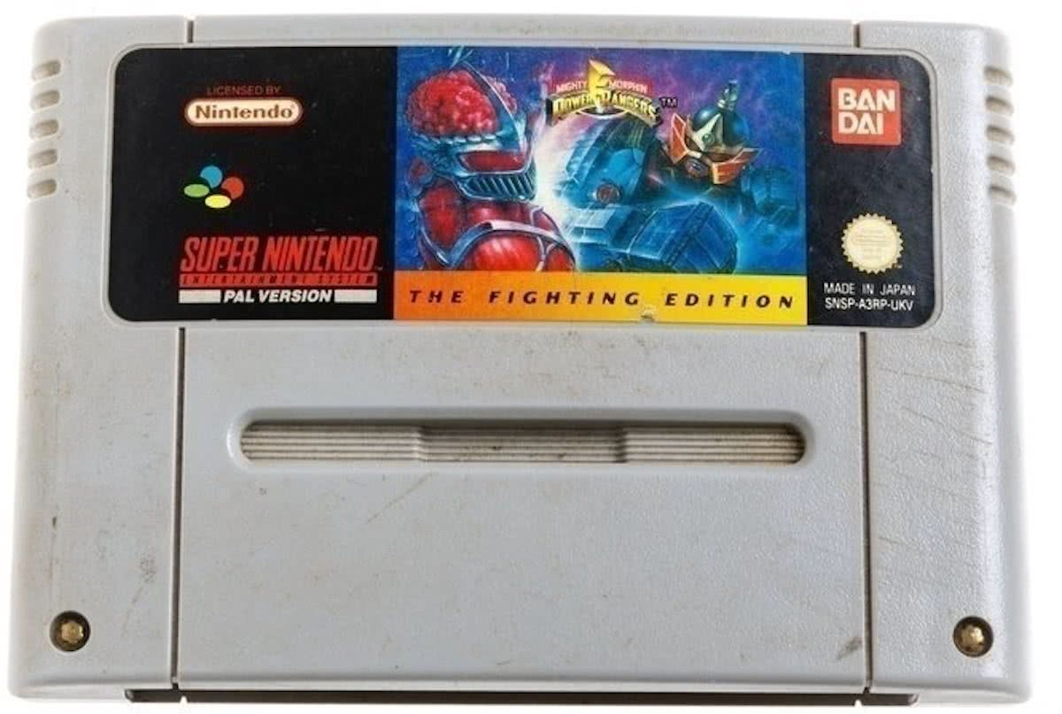 Power Rangers - The Fighting Edition - Super Nintendo [SNES] Game [PAL]
